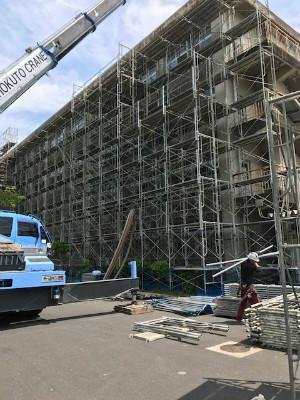城南中学大規模改修工事