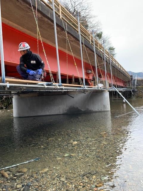 橋梁耐震対策推進工事