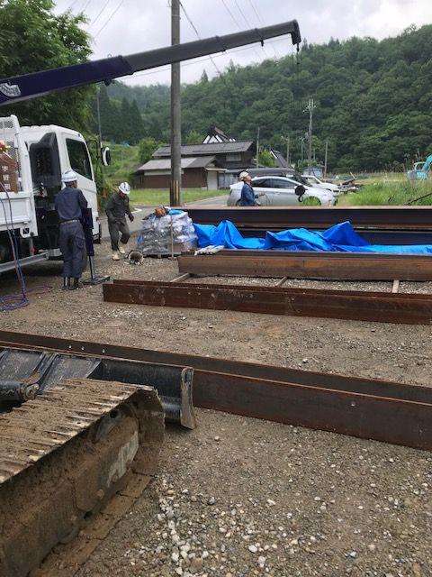 朝根川災害関連緊急砂防工事