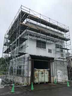 カルビー京都工場支保工