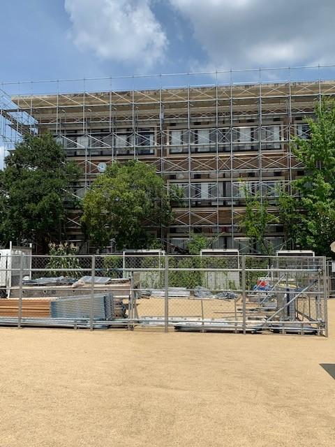 京都教育大付属小中学校外壁改修工事