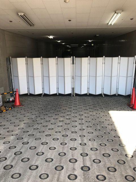京都地方裁判所パネルゲート設置工事
